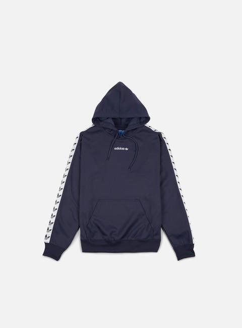 felpe adidas originals tnt trefoil hoodie trace blue white