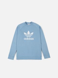 Adidas Originals - Trefoil Crewneck, Ash Blue