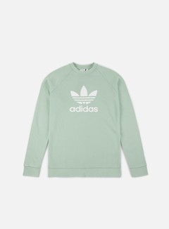 Adidas Originals - Trefoil Crewneck, Ash Green