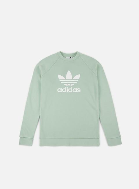 Sale Outlet Crewneck Sweatshirts Adidas Originals Trefoil Crewneck