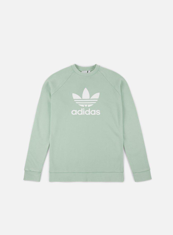 70d562ad5a6c4 ADIDAS ORIGINALS Trefoil Crewneck € 30 Crewneck Sweatshirts ...