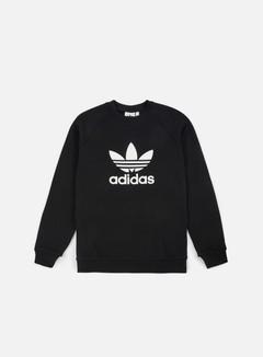 Adidas Originals - Trefoil Crewneck, Black/White