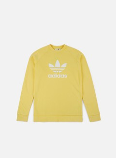 Adidas Originals - Trefoil Crewneck, Intense Lemon