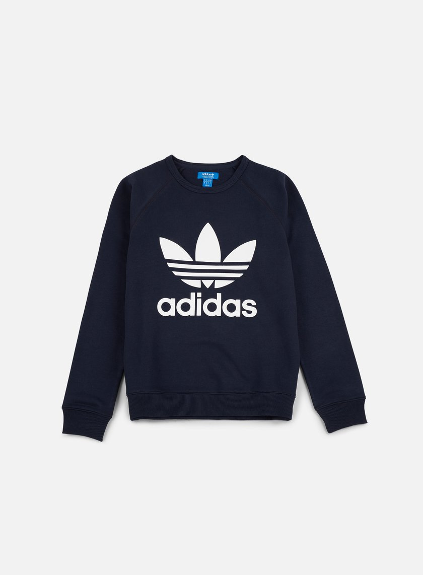 Adidas Originals - Trefoil Crewneck, Legend Ink