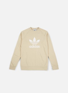 Adidas Originals - Trefoil Crewneck, Linen
