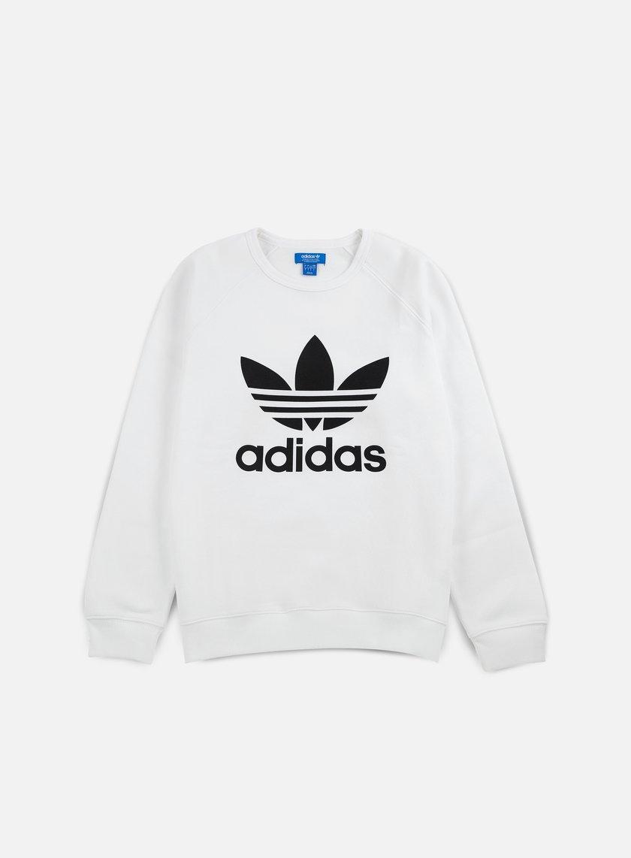 Adidas Originals - Trefoil Crewneck, White OLD