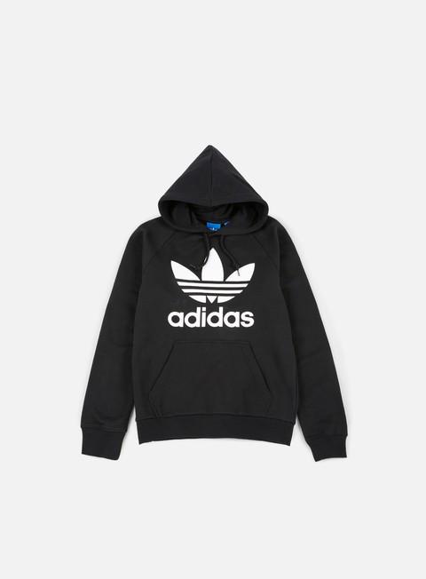felpe adidas originals trefoil hoodie black
