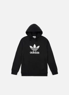 Adidas Originals - Trefoil Hoodie, Black/White