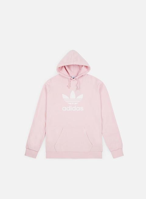 felpe adidas originals trefoil hoodie clear pink