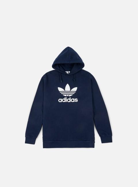 felpe adidas originals trefoil hoodie collegiate navy