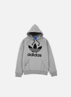 Adidas Originals - Trefoil Hoodie, Medium Grey Heather
