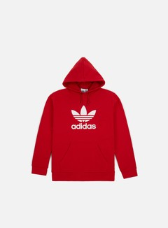 Adidas Originals - Trefoil Hoodie, Power Red