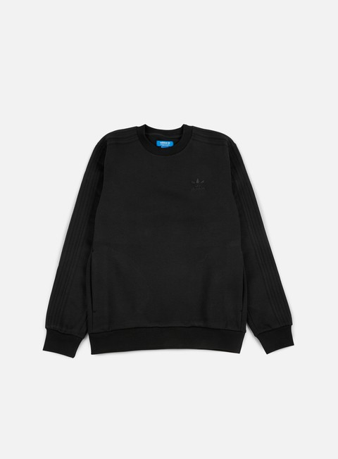 felpe adidas originals trefoil series crewneck black