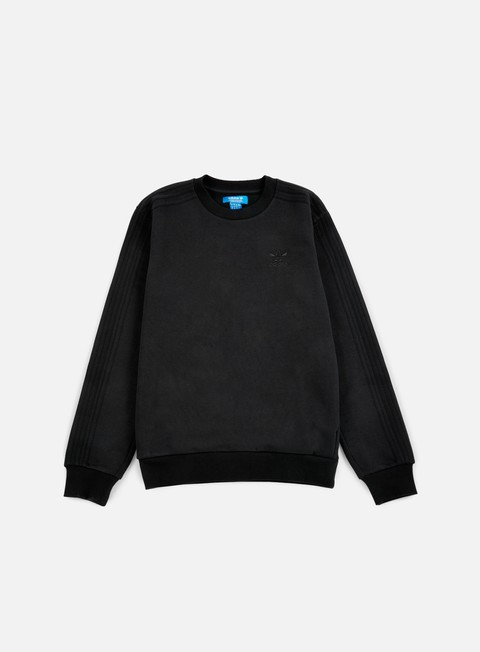 felpe adidas originals trf series crewneck black