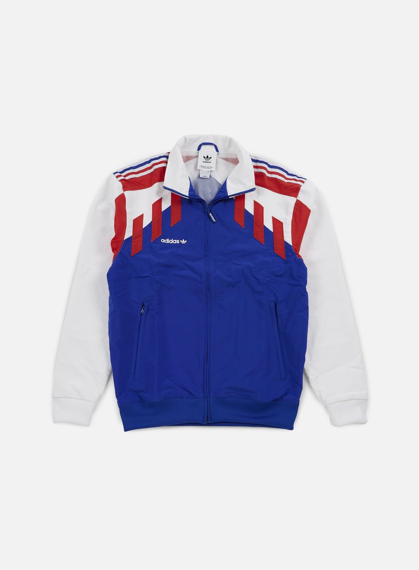 Adidas Originals - Tri Colore Track Top, Bold Blue