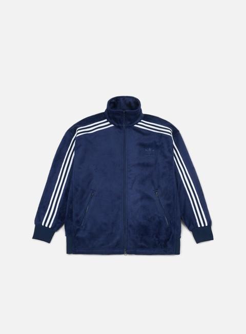 Felpe con Zip Adidas Originals Velour Beckenbauer Tracktop