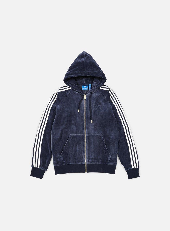 Adidas Originals Velour Zip Hoodie