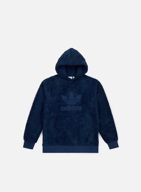 felpe adidas originals winterized hoodie collegiate navy
