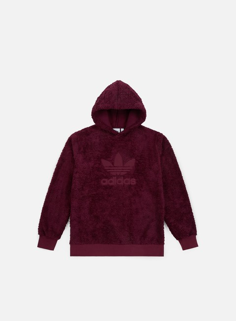 felpe adidas originals winterized hoodie maroon