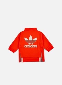 Adidas Originals - WMNS Logo Sweatshirt, Core Red 1