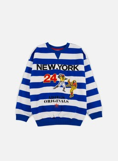 Adidas Originals - WMNS New York Archive Crewneck, Blue 1