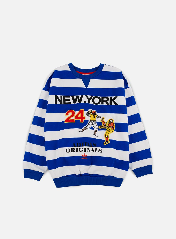 Adidas Originals - WMNS New York Archive Crewneck, Blue