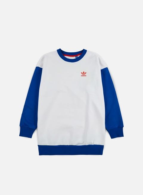 felpe adidas originals wmns paris archive crewneck blue