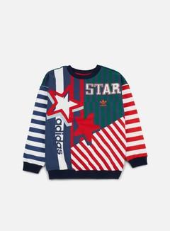 Adidas Originals - WMNS Star Archive Crewneck, Multicolor 1