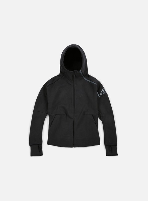 felpe adidas originals wmns zne hoody black