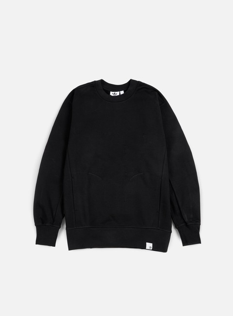 felpe adidas originals xbyo crewneck black