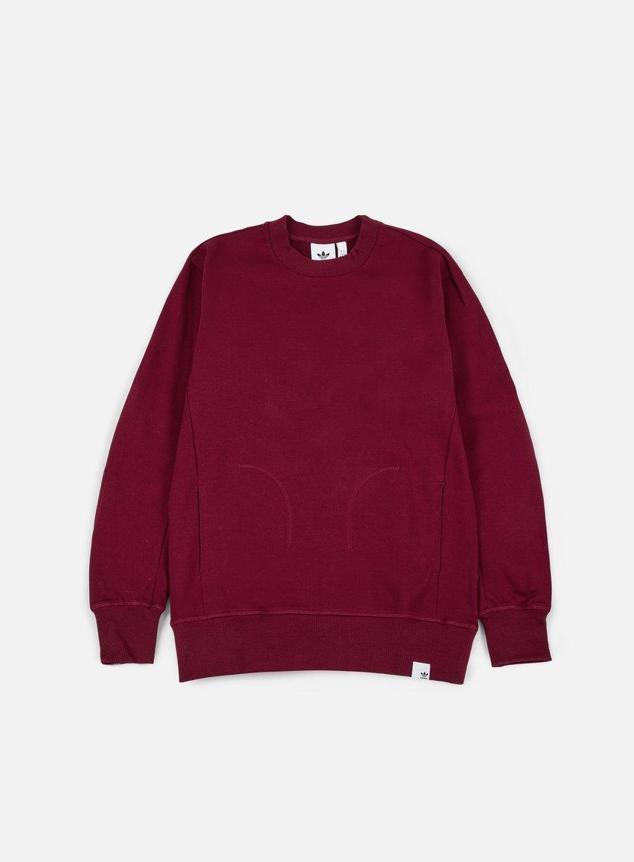Adidas Originals - XbyO Crewneck, Collegiate Burgundy
