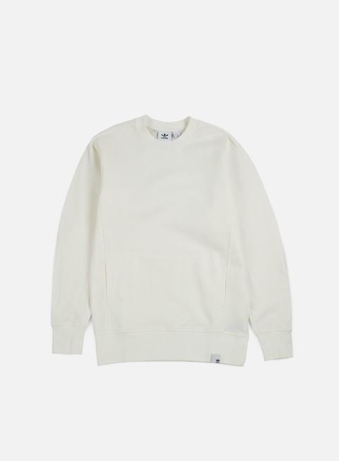 felpe adidas originals xbyo crewneck white