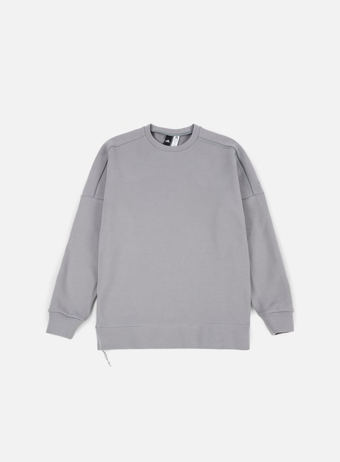 felpe adidas originals zne 2 crewneck grey heather