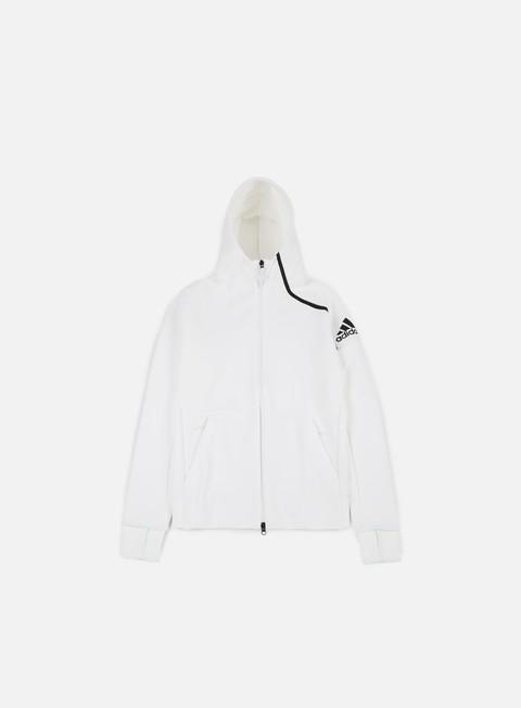 felpe adidas originals zne 2 hoody white