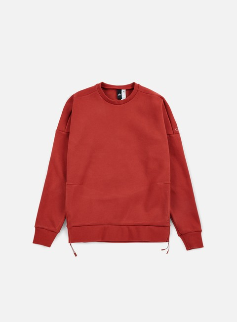 felpe adidas originals zne crewneck mystery red