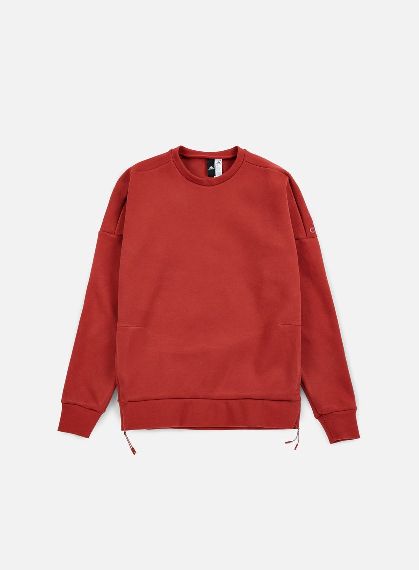 Adidas Originals - ZNE Crewneck, Mystery Red