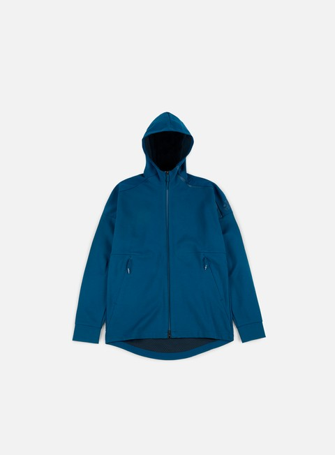 felpe adidas originals zne duo hoody blue night black