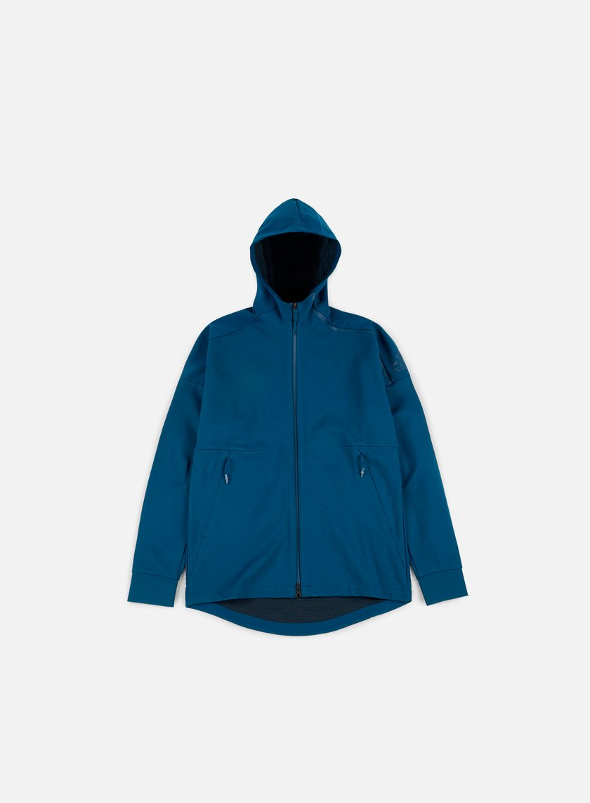 Adidas Originals - ZNE Duo Hoody, Blue Night/Black