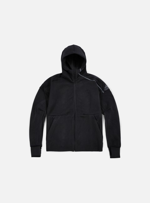 felpe adidas originals zne hoody black