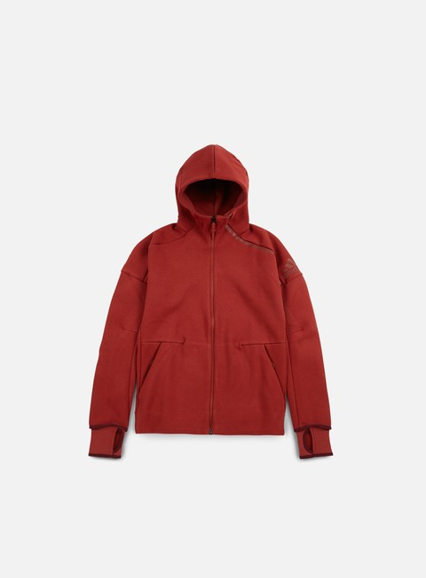 felpe adidas originals zne hoody mystery red
