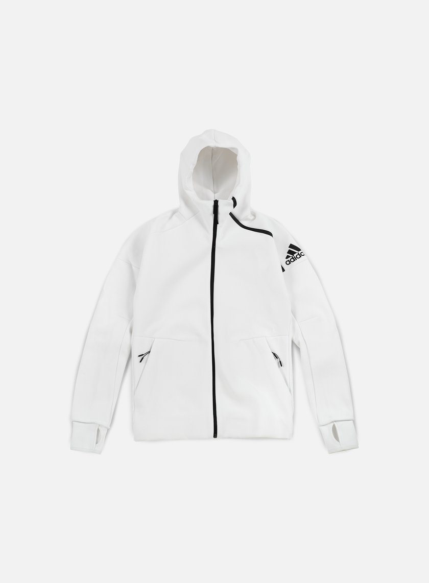 Adidas Originals - ZNE Hoody, White
