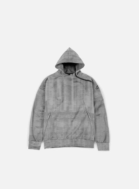 felpe adidas originals zne pulse hoody grey heather