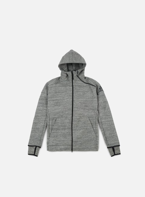 Sale Outlet Hoodie Adidas Originals ZNE Storm Heathered Hoody