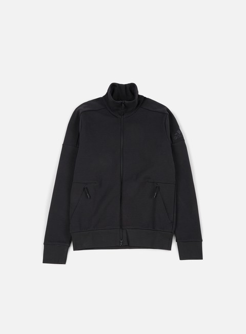 felpe adidas originals zne track top black