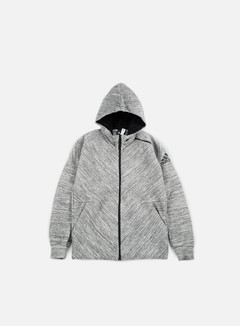 Adidas Originals - ZNE Travel Hoody, Storm Heather/Medium Grey 1