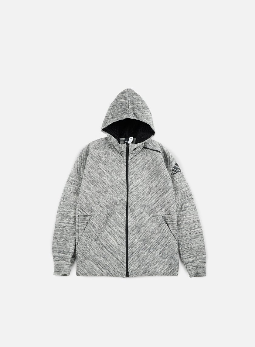 Adidas Originals - ZNE Travel Hoody, Storm Heather/Medium Grey