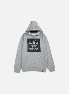 Adidas Skateboarding - Blackbird Basic Hoodie, Core Heather/Black 1