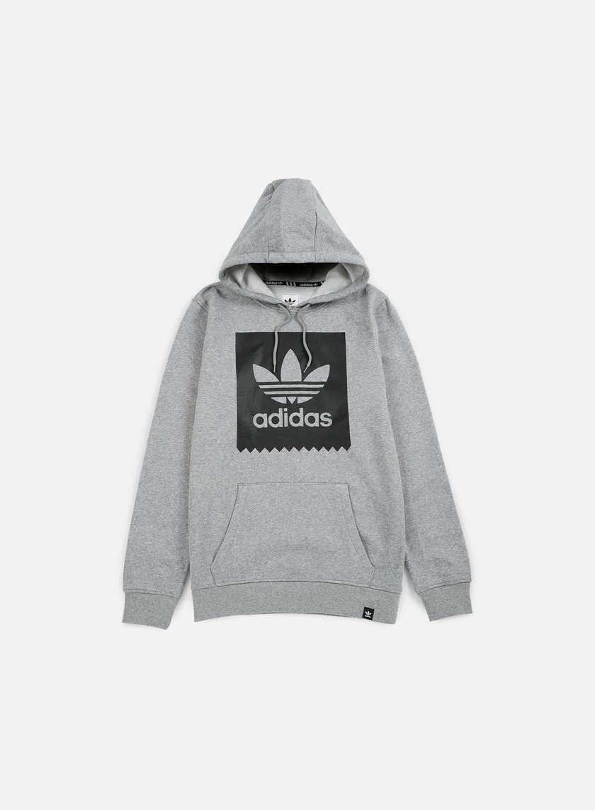 Adidas Skateboarding - Blackbird Basic Hoodie, Core Heather/Black