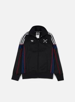 Adidas Skateboarding - Bonethrower Track Jacket, Black/White 1