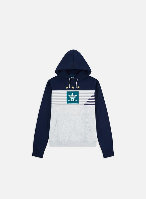 Felpe con Cappuccio Adidas Skateboarding Elevated 3 Hoodie